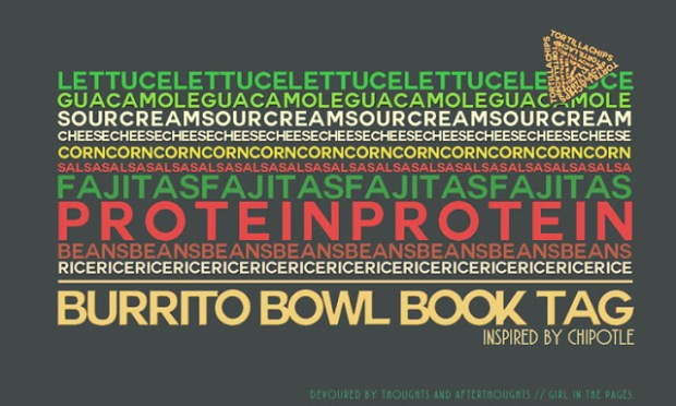 burrito bowl book tag