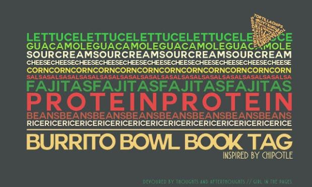 burrito bowl book tag