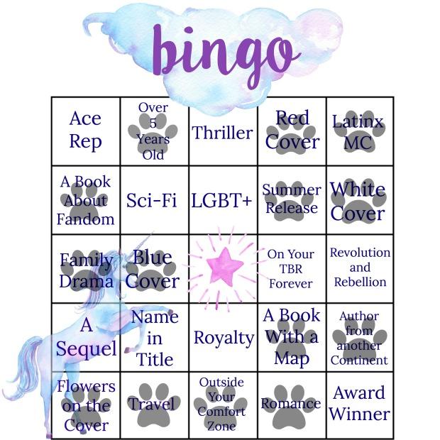 summer bingo 2017